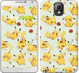 "Чохол на Samsung Galaxy Note 3 N9000 pokemon Pikachu go ""3769c-29"""