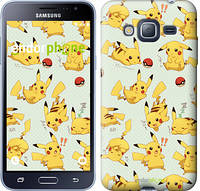 "Чохол на Samsung Galaxy J3 Duos (2016) J320H pokemon Pikachu go ""3769c-265"""