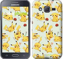 "Чехол на Samsung Galaxy J2 J200H Pikachu pokemon go ""3769c-190"""