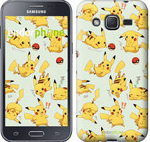"Чохол на Samsung Galaxy J2 J200H pokemon Pikachu go ""3769c-190"""