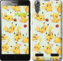 "Чохол на Lenovo A6000 pokemon Pikachu go ""3769c-103"""