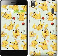 "Чохол на Lenovo A7000 pokemon Pikachu go ""3769c-120"""