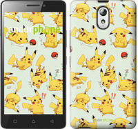 "Чехол на Lenovo Vibe P1m Pikachu pokemon go ""3769c-154"""