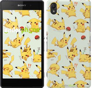 "Чохол на Sony Xperia Z2 D6502/D6503 pokemon Pikachu go ""3769c-43"""
