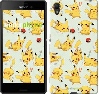 "Чохол на Sony Xperia Z3+ Dual E6533 pokemon Pikachu go ""3769u-165"""