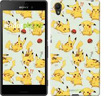 "Чехол на Sony Xperia Z3+ Dual E6533 Pikachu pokemon go ""3769u-165"""