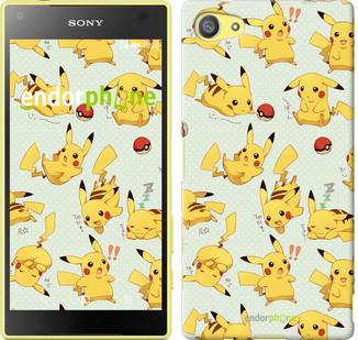 """Чохол на Sony Xperia Z5 Compact E5823 pokemon Pikachu go """"3769u-322"""""""