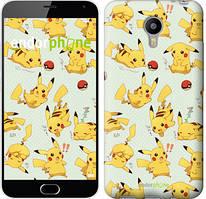 "Чохол на Meizu M2 Note pokemon Pikachu go ""3769c-94"""