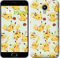 "Чехол на Meizu M2 Pikachu pokemon go ""3769c-185"""