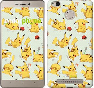 "Чехол на Xiaomi Redmi 3s Pikachu pokemon go ""3769c-357"""