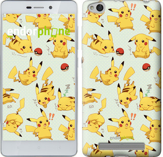 "Чехол на Xiaomi Redmi 3 Pikachu pokemon go ""3769c-97"""