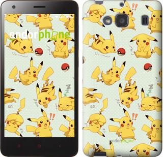 "Чохол на Xiaomi Redmi 2 pokemon Pikachu go ""3769c-98"""