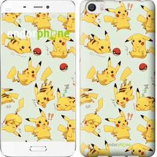 """Чехол на Xiaomi Mi5 Pikachu pokemon go """"3769c-180"""""""
