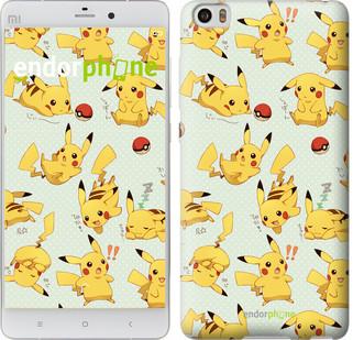 "Чехол на Xiaomi Mi 5s Pikachu pokemon go ""3769c-395"""
