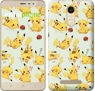 "Чохол на Xiaomi Mi 5s Plus pokemon Pikachu go ""3769c-396"""
