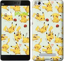 "Чохол на Xiaomi Mi4 pokemon Pikachu go ""3769u-163"""