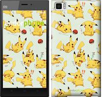 "Чохол на Xiaomi Mi3 pokemon Pikachu go ""3769u-170"""