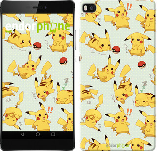 "Чохол на Huawei Ascend P8 pokemon Pikachu go ""3769u-123"""