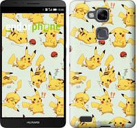 "Чохол на Huawei Ascend Mate 7 MT7-L09 pokemon Pikachu go ""3769u-140"""