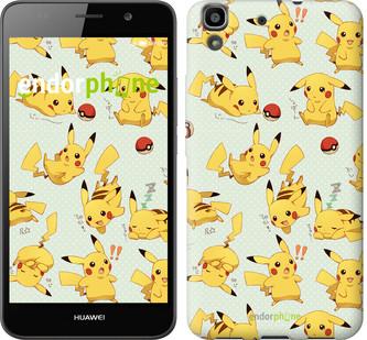 """Чехол на Huawei Y6 Pikachu pokemon go """"3769u-333"""""""