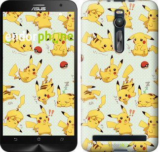 "Чохол на Asus Zenfone 2 ZE551ML pokemon Pikachu go ""3769c-122"""