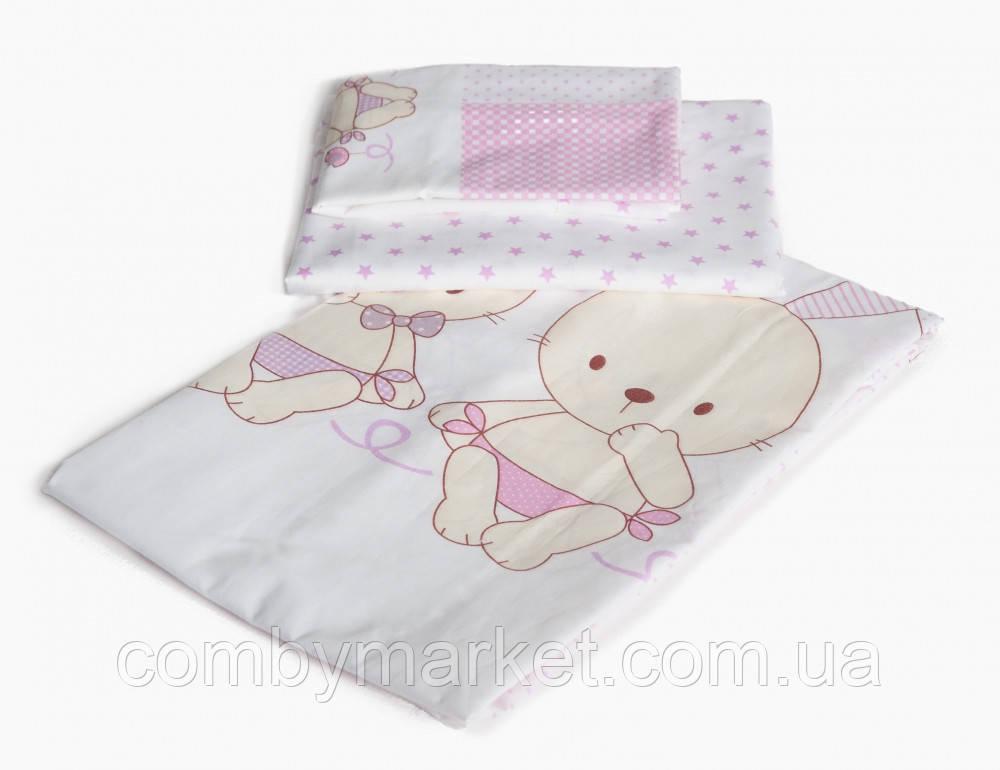 Сменная постель Twins Dolce D-002  Друзья навсегда розовый