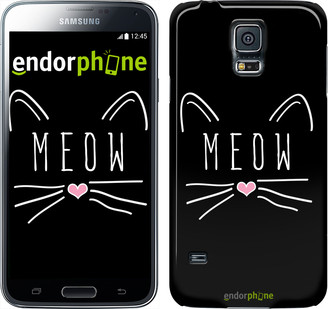 "Чехол на Samsung Galaxy S5 Duos SM G900FD Kitty ""3677c-62"""