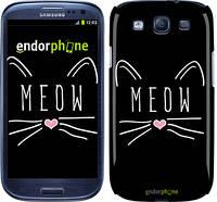 "Чехол на Samsung Galaxy S3 i9300 Kitty ""3677c-11"""