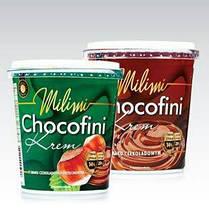 Шоколадно-ореховая и шоколадная паста (крем) Chocofini (Чокофини) Польша 400г