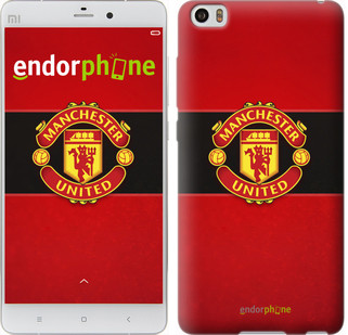 """Чехол на Xiaomi Mi Note Манчестер Юнайтед 3 """"997u-102"""""""