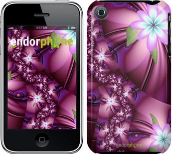 """Чехол на iPhone 3Gs Цветочная мозаика """"1961c-34"""""""