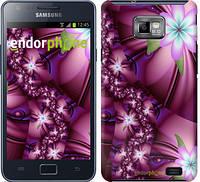 "Чехол на Samsung Galaxy S2 i9100 Цветочная мозаика ""1961c-14"""