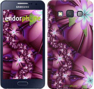 """Чохол на Samsung Galaxy A3 A300H Квіткова мозаїка """"1961c-72"""""""