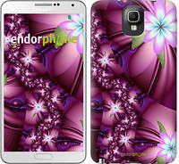 "Чехол на Samsung Galaxy Note 3 N9000 Цветочная мозаика ""1961c-29"""