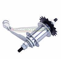 Втулка заднего колеса велосипеда (червячная- 36 спиц)