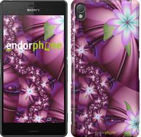 """Чехол на Sony Xperia Z3 D6603 Цветочная мозаика """"1961c-58"""""""