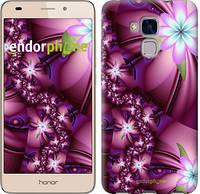 """Чехол на Huawei Honor 5C Цветочная мозаика """"1961u-356"""""""