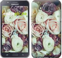 """Чехол на Samsung Galaxy J7 J700H Букет роз """"2692c-101"""""""