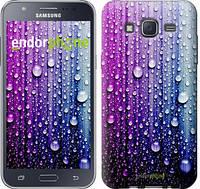 "Чехол на Samsung Galaxy J5 J500H Капли воды ""3351c-100"""
