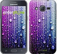 "Чехол на Samsung Galaxy J2 J200H Капли воды ""3351c-190"""