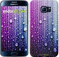 "Чехол на Samsung Galaxy Star Plus S7262 Капли воды ""3351u-360"""