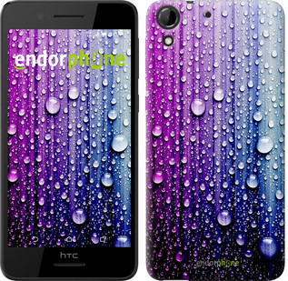 "Чехол на HTC Desire 728G Капли воды ""3351u-145"""