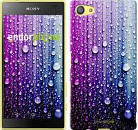 """Чехол на Sony Xperia Z5 Compact E5823 Капли воды """"3351u-322"""""""