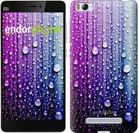 """Чехол на Xiaomi Mi4 Капли воды """"3351u-163"""""""
