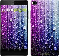"Чехол на Huawei Ascend P8 Капли воды ""3351u-123"""