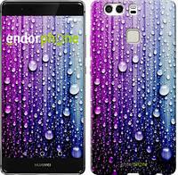 "Чехол на Huawei P9 Plus Капли воды ""3351u-300"""