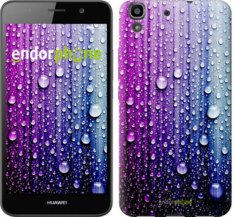 "Чехол на Huawei Y6 Капли воды ""3351u-333"""