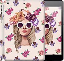 "Чохол на iPad 5 (Air) Дівчина з квітами v2 ""3569c-26"""