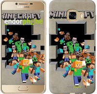 "Чехол на Samsung Galaxy C5 C5000 Minecraft 6 ""3330u-301"""
