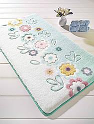Коврик для ванной Confetti April Turquoise (Turkuaz) 55х57см